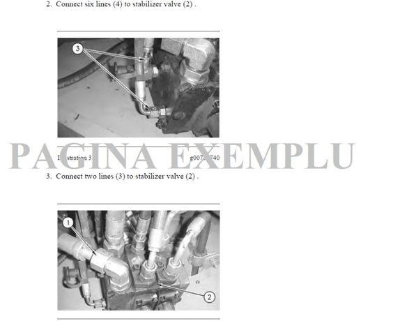 Manual service reparatii CAT Caterpillar buldoexcavator excavator