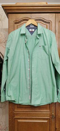 Рубашки мужские Tommy Hilfiger, Hugo Boss, US Polo, Trussardi, Armani