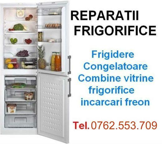 Reparatii frigidere si congelatoare Moreni