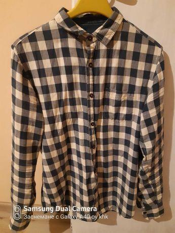 Карирана риза Pull & Bear