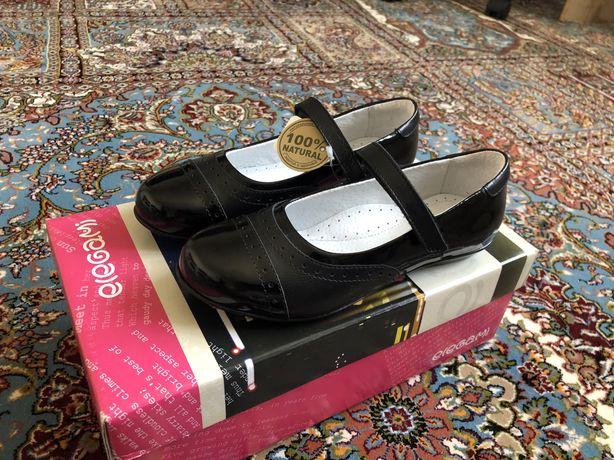 Продам туфли 33 размер кожаные