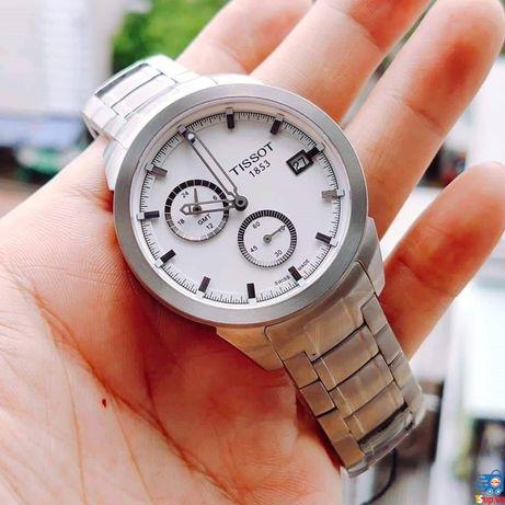 Мужские швейцарские часы Tissot T-Sport Titanium GMT
