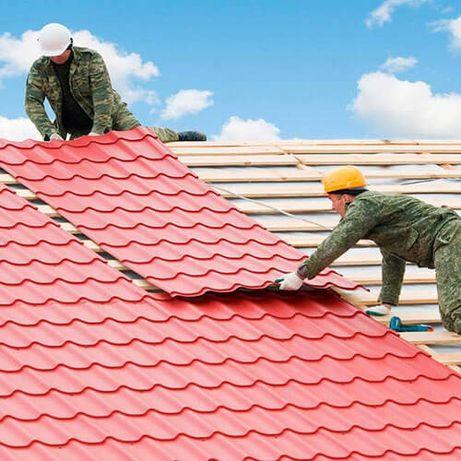 Кровельные работы, ремонт крыши, замена кровли