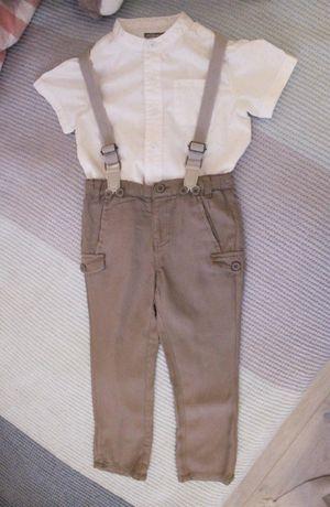 Лот от детски дрехи за момче Mothercare, Vertbaudet и Lupilu - 2-3 г.