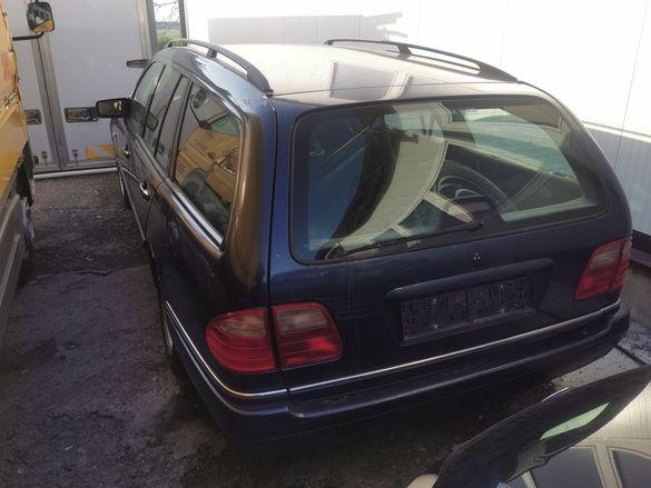 Mercedes E290 на части