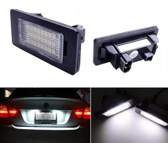 Lampi Numar LED BMW Seria 3 5 E39 E46 E60 E70 E82 E90 E91 E92 F10 F30