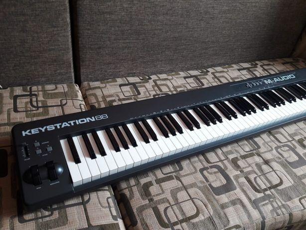 M-Audio Keystation 88 midi клавиатура
