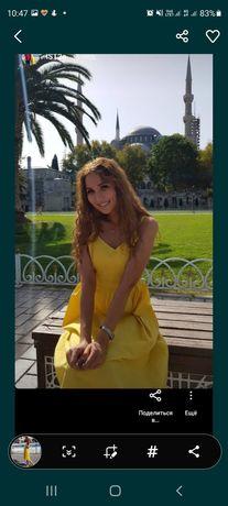 Милое платье  на лето