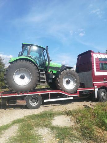 Transport utilaje, buldo, tractoare,utilaje agricole, taf