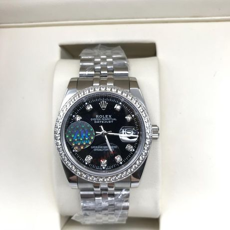 Rolex Datejust 36MM Diamond Silver 01
