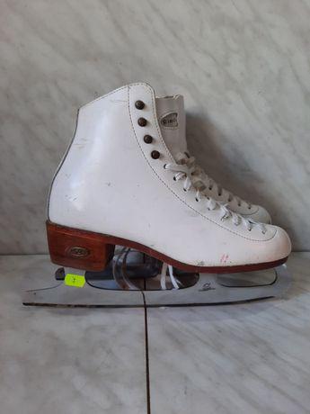 Patine gheata 7 profesionale patinaj artistic Riedell marime 38,5