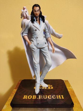Figurina Rob Lucci 16cm din anime One Piece (Bandai)