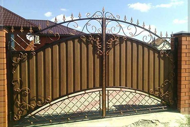 Изготавливаем Ворота, калитки, забор под заказ клиента