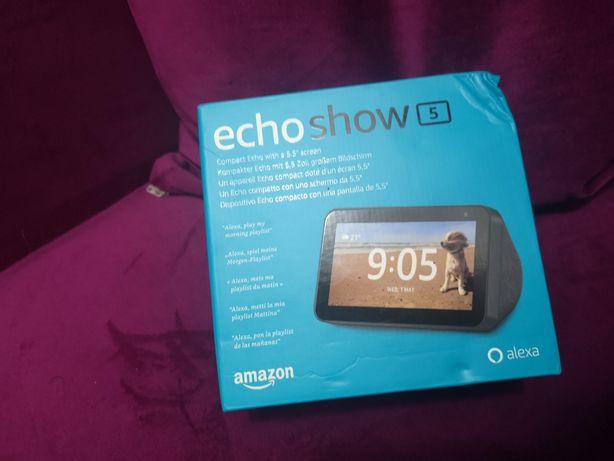 Boxa Portabila Echo Show 5 Cu Ecran Si Apelare Video Negru
