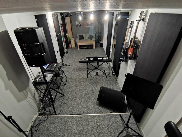 Музикално репетиционно Студио/ Уроци по пеене, пиано, китара, солфеж