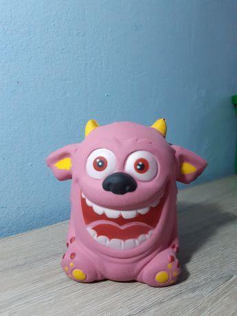 Squishy monstru roz