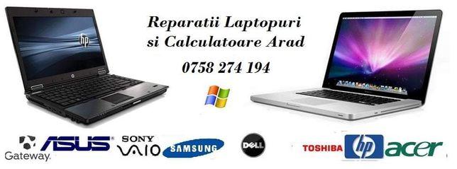 Reparații laptop calculator instalări Windows devirusare etc
