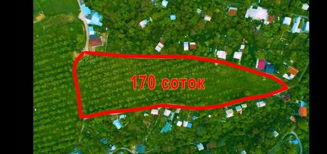 Участок 170 соток, ИЖС, Алматы Наурызбайский район.