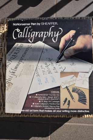 Set caligrafie