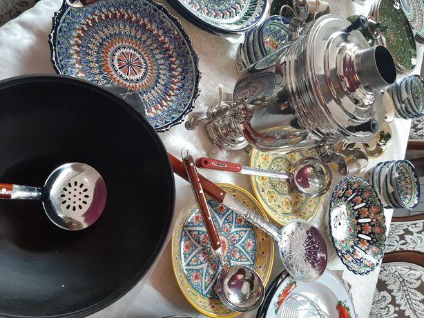 Настоящий Узбекский Посуды , Чайники и Пиалушки от 3500 тг