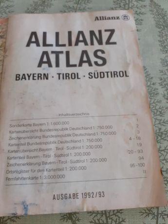 Atlas cu toate hartile Germaniei