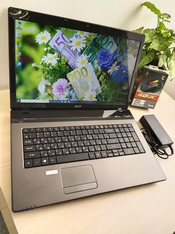 Игровой ноутбук Acer большой диагональ экран!