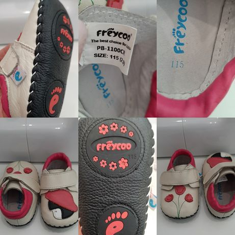 Pantofi Giraffe-shoes, Freycoo, marime 19 ( 6-12 luni)