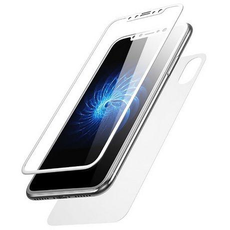 Folie de sticla curbata MyStyle 5D Fata + Spate pentru Apple iPhone X