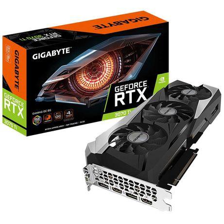 Видеокарта Gigabyte GeForce RTX 3070 Ti GAMING OC 8G