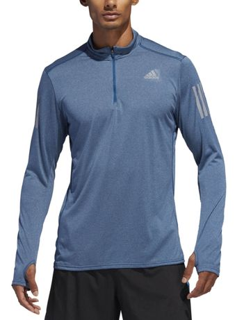 Tricou Adidas cu mânecă lungă RS LS Zip Tee M
