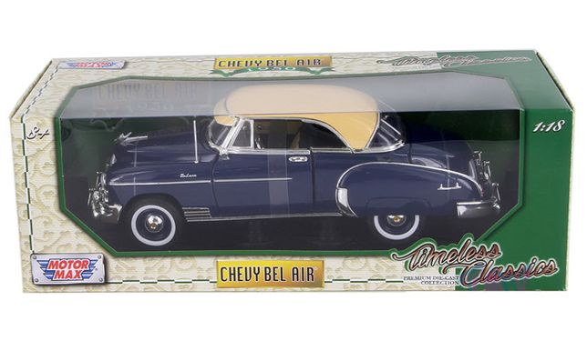 Masina Motormax Chevy Bel Air 1950 1:18 NOUA 300 lei