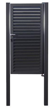 Poarta Jaluze 1850mmx900mm/100mm complet Zincată Termic