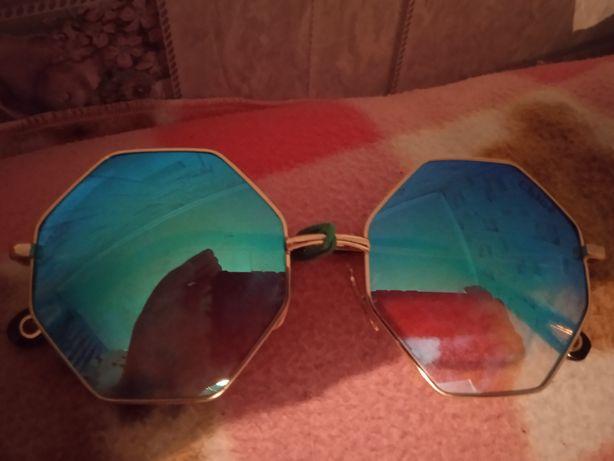 Синие очки не дорого