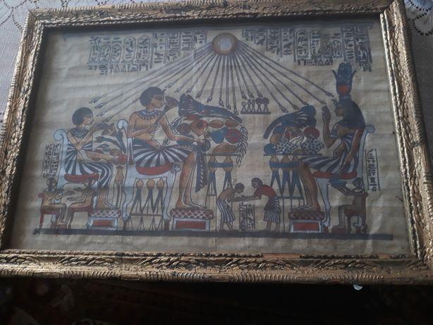 Tablou papirus