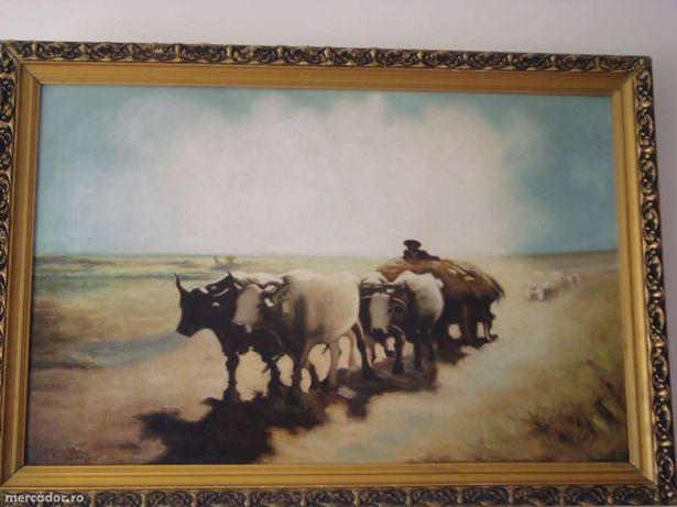 Vand URGENT tablouri deosebite pictate pe panza in ulei
