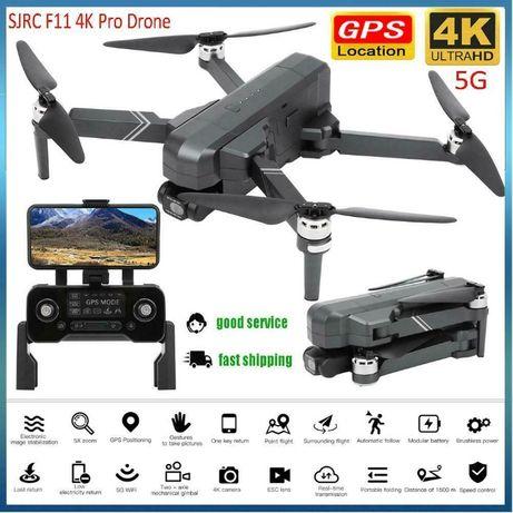 Дрон SJRC F11 Pro с 4K камера, 1,5 км. полет и 26 мин. летене