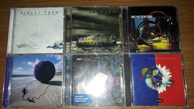 Cd-uri originale Sieges Even , Phish și Dave Matthews Band vând sau sc