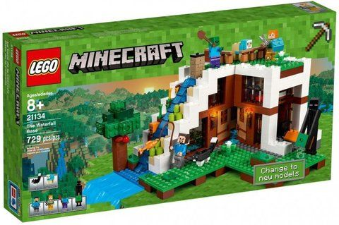 LEGO Minecraft: База на водопаде 21134