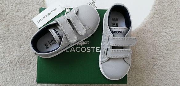 Нови детски обувки Lacoste 20н.