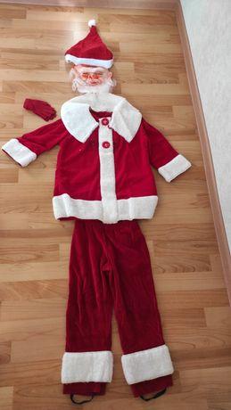 Продам новогодний костюм дед мороза