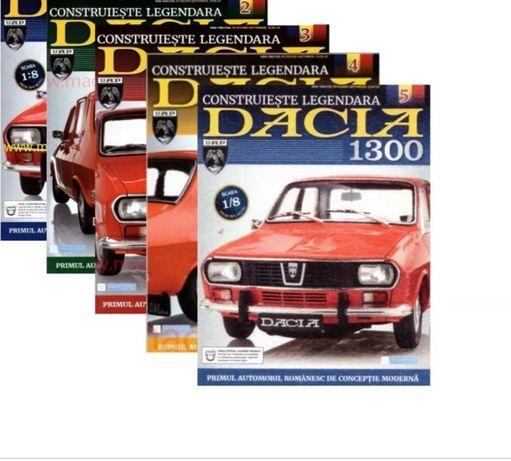 Colecția de reviste cu macheta Dacia 1300