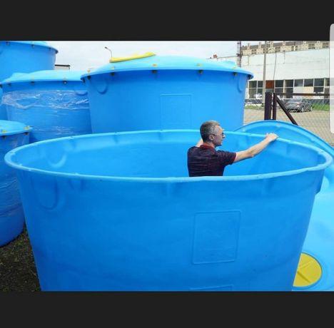 Емкость для воды, бак, резервуар для строительства 5000л, 10000л