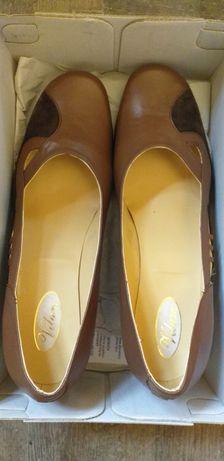 Pantofi românești piele
