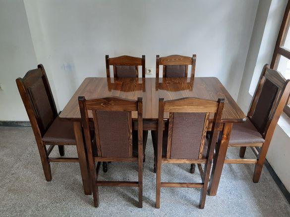 Маси и столове от бял бор, ПДЧ и МДФ- продажби на едро и дребно