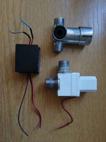 Accesorii baterie lavoar cu senzor