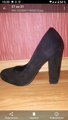 Продам туфли чёрного цвета
