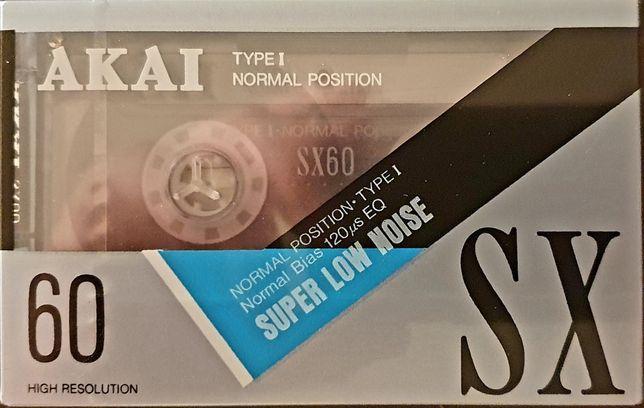 Casete audio sigilate Akai SX60