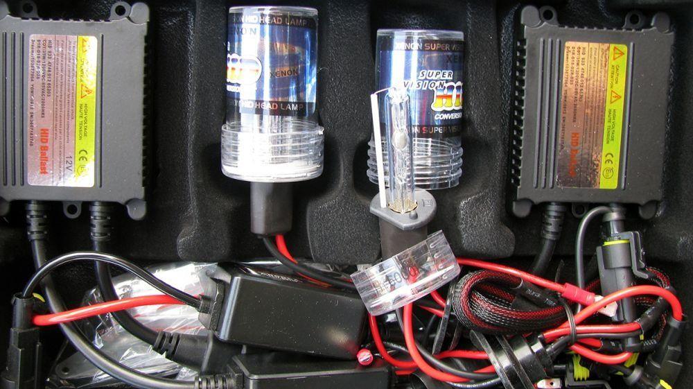 Усилена мощност ксенон систем слим баласти 35 / 55 вата