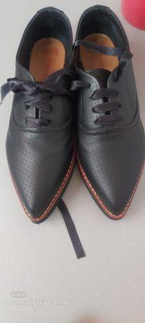 Pantofi damă piele naturala