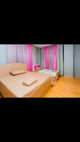 4 комнатная Шикарная Квартира в центре города по суточно